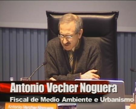 Juan Raposo Arceo, Profesor da Universidade da Coruña (UDC) e Antonio Vercher Noguera, Fiscal coordinador de medio ambiente e urbanismo - Seminario sobre a Discrecionalidade no Exercicio das Potestades de Planificación, Xestión e Disciplina Urbanística